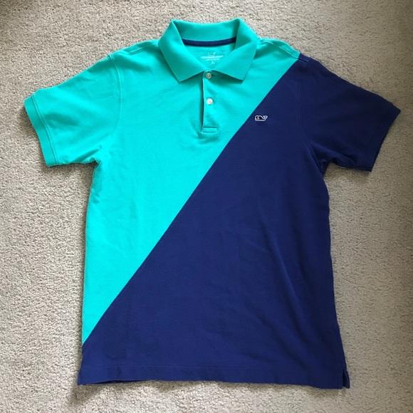 cb2d89a9 Vineyard Vines dual colored polo! M_5b352328df0307312effa022. Other Shirts  ...